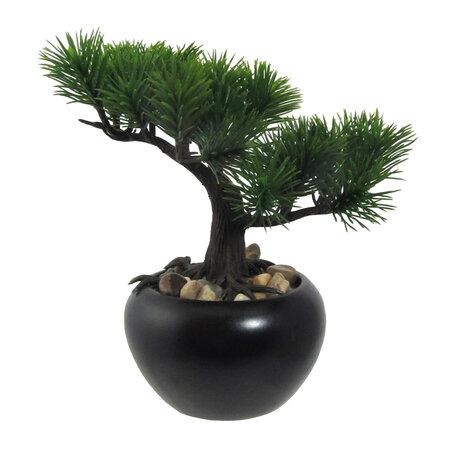 Umely bonsaj Borovica v kvetinaci